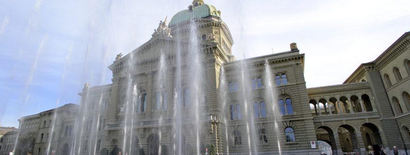 Bundesplatz Bern, Parlament, Frühlingssession