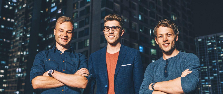 Jakob Bitner Michael Peither und Felix Kiefl profitieren mit ihrem Start-up VoltStorage vom Smart Energy Innovationsfonds (zvg von Energie 360°)