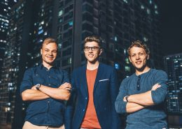 Jakob Bitner Michael Peither und Felix Kiefl profitieren mit ihrem Start-up VoltStorage vom Smart Energy Innovationsfonds (zvg von Energie 360°)
