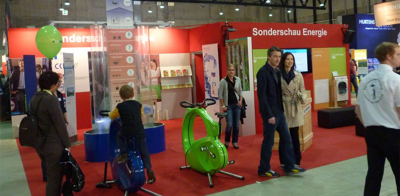 Sonderschau Energie an der Luzerner Erlebnissmesse Luga; Agentur Umsicht