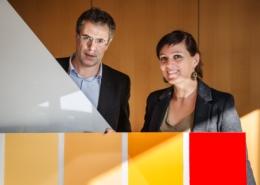 CSEM Prof. Christophe Ballif and Dr. Laure Emmanuelle