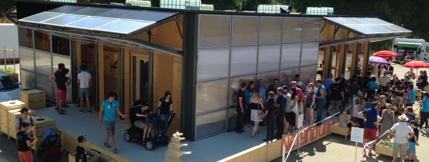 Smart Living Lab am Solar Decathlon