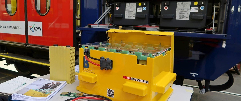 Nouvelle génération de batteries pour le réseau de bord des trains 1