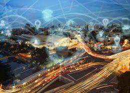 Smart city and internet wireless communication network