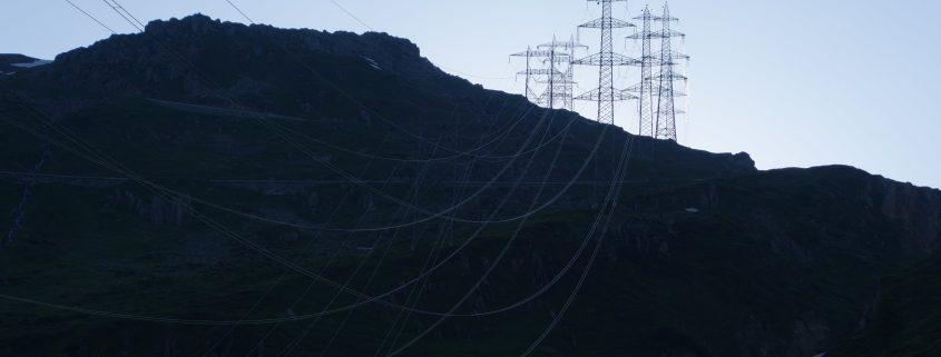 Übertragungsleitung Nufenenpass