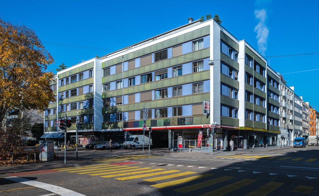 Solarfassade in Basel