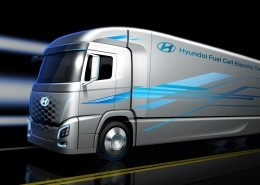 Hyundai Fuel Cell Truck