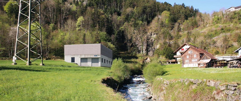 Visualisierung Kraftwerk Erstfeldtal
