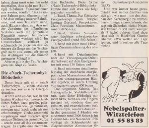 1986 Nebelsplalter Heft 29