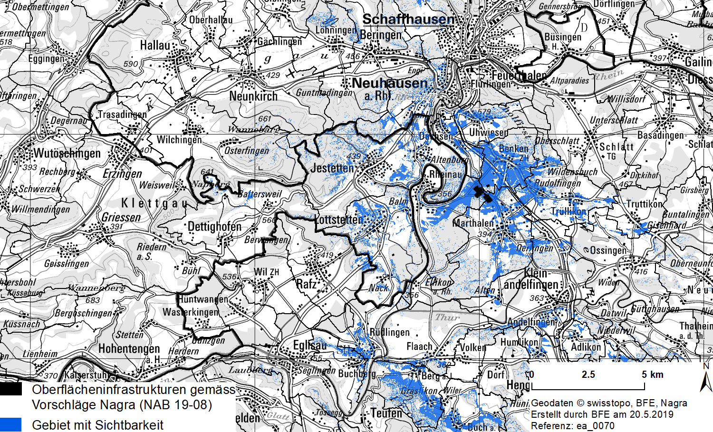 Sichtbarkeitsanalyse Zürich Nordost