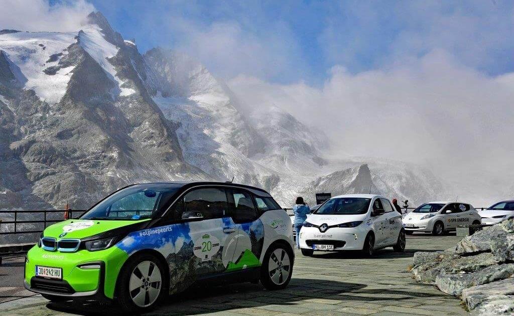 Alpine Pearls E-Tour: prima edizione 1