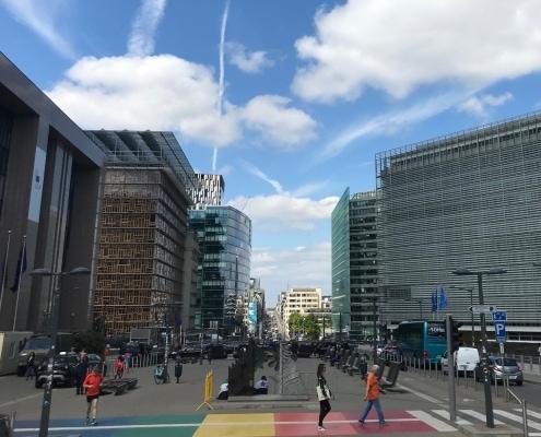 Rue de la loi, Brüssel.