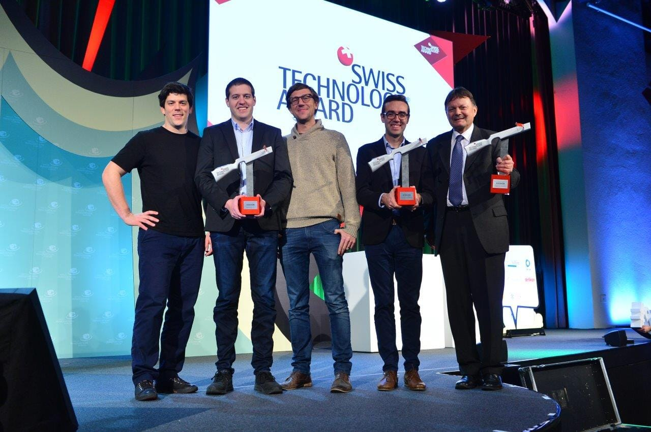 Swiss Technology Award: Preisübergabe an innovative Unternehmer
