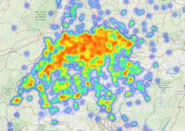 Heatmap Schweiz