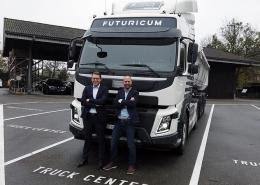 Elektrolastwagen Futuricum der Firma Designwerk geht in die Serienproduktion und erobert deutsche Städte