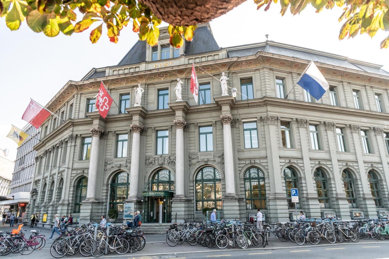 Die Hauptpost in Luzern (Copyright: Die Post)